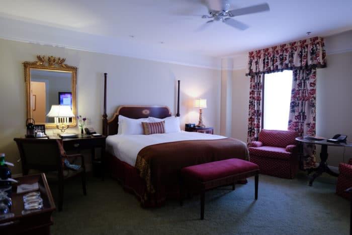 Hermitage Hotel review bedroom
