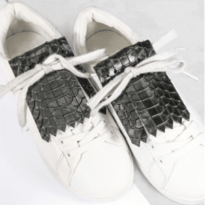 Vegetable tanned tennis shoe fringe make your shoes look impossibly fashion-y!