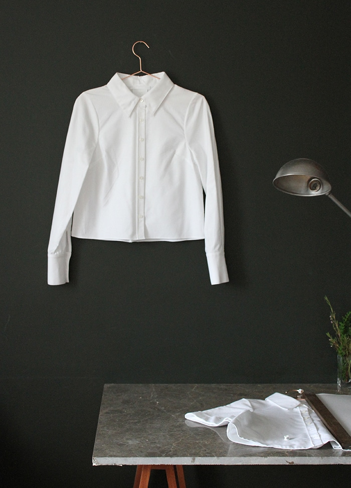 A shirt from Uniforme, an ethical fashion label by emerging designer Alice Wang