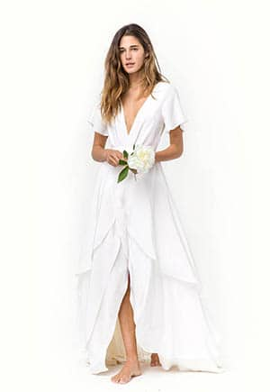 Christy Dawn Sustainable wedding dress