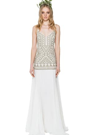 Mara Hoffman, eco wedding dress
