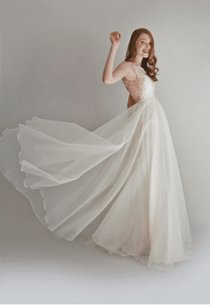 Leanne Marshall eco bridal gown