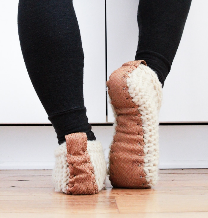 Eco-friendly slippers