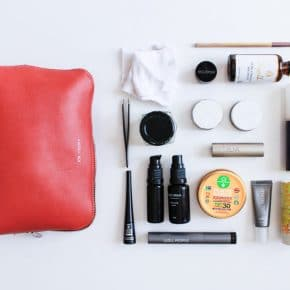 My Clean Beauty Travel Bag + Favorite Travel-Sized Non-Toxic Toiletries