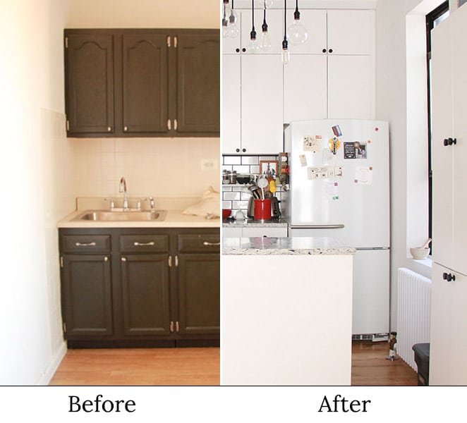 Sustainable Apartment Renovation Before and After: The ...