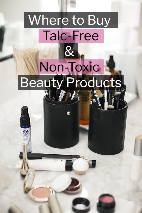 Talc Free Makeup And Beauty Products