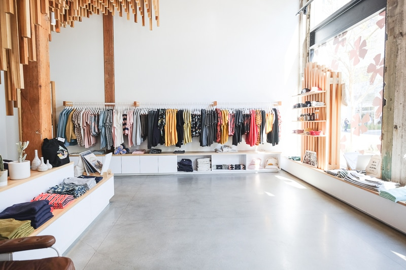 Banks Journal LA store sustainable fashion
