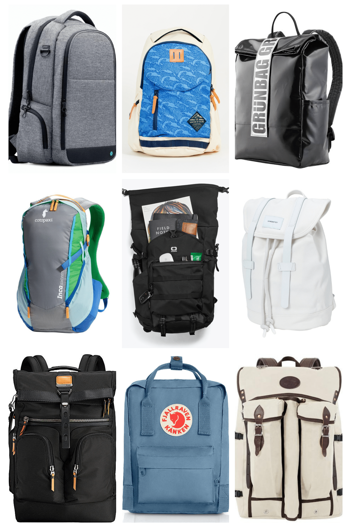 Travel Bag School Bag Backpack Storage Bag For Men Women Girls Boys Personalized Pattern Snowy Road Shopping Bag