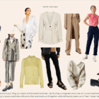 A digital boutique with clickable pictures of clothing and accessories